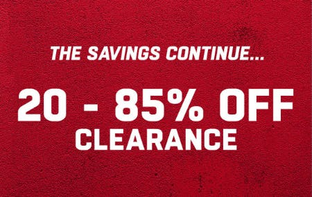 20-85% Off Clearance from Lids