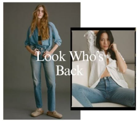 Back in Stock: Best-Selling Denim from Lucky Brand Jeans