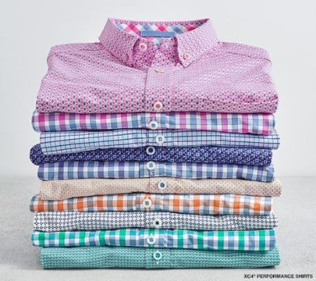 Smooth Transition: The XC4 Performance Shirts from Johnston & Murphy