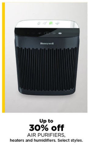 Up to 30% Off Air Purifiers, Heaters & Humidifiers from Kohl's