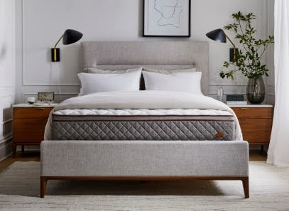 The Duxiana Mattress from West Elm
