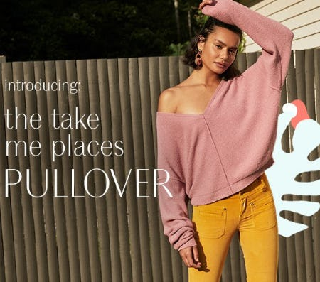 Introducing The Take Me Places Pullover from Free People