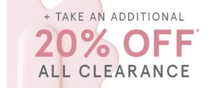 Additional 20% Off All Clearance