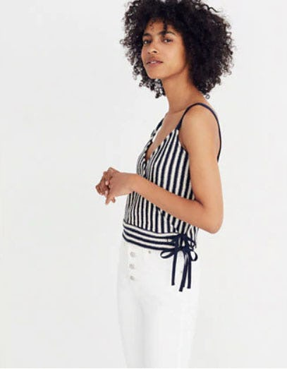 Finale Tank Top in Stripe from Madewell