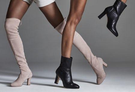 New Platform Boots