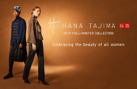Hana Tajima 2019 Fall/Winter Collection from Uniqlo