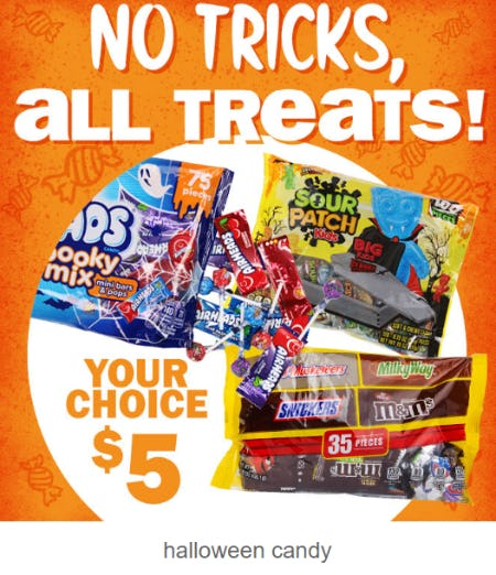 Halloween Candy $5 from Five Below