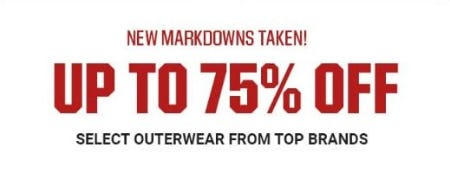 Up to 75% Off Select Outerwear from Top Brands from Dick's Sporting Goods