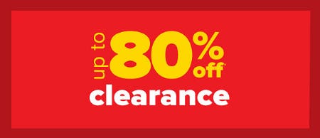 Up to 80% Off Clearance from Belk