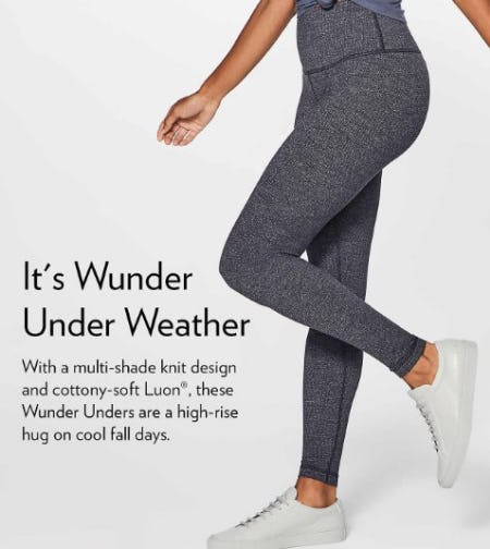 Fall Calls for Cozy Tights from lululemon