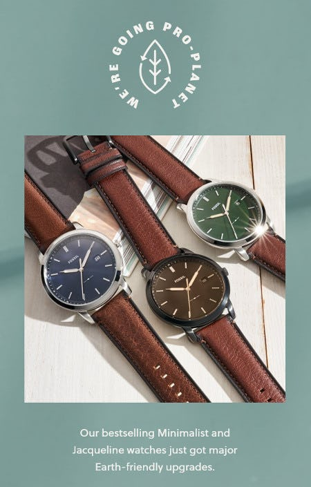 Now Celebrating Mother Earth 24/7 from Fossil