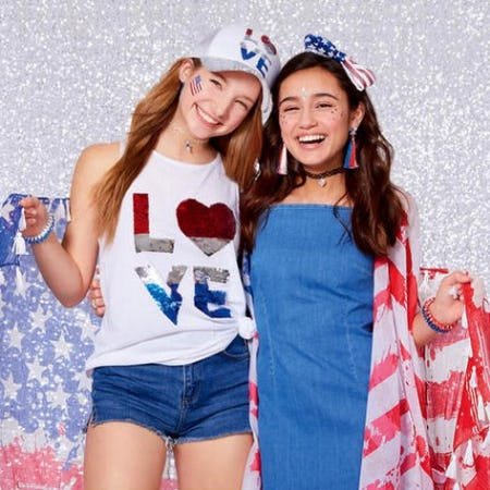 Celebrate 4th of July in Style! from Claire's