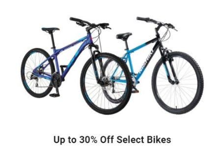 Up to 30% Off Select Bikes from Dick's Sporting Goods