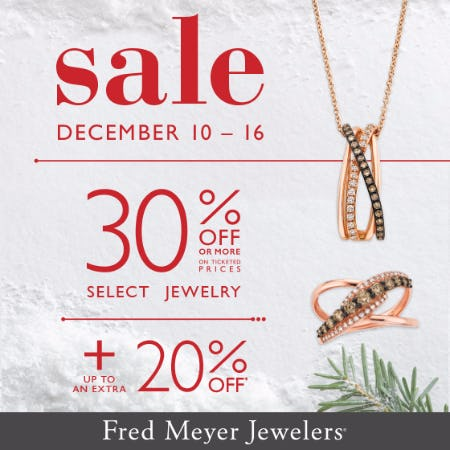 Fred Meyer  Buy More Save More Sale