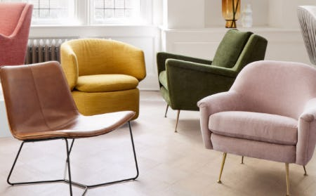 Shop Your New Favorite Chair from West Elm
