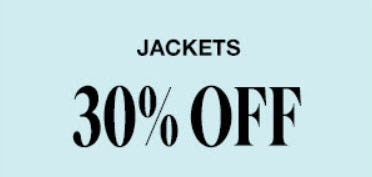 30% Off Jackets from Garage