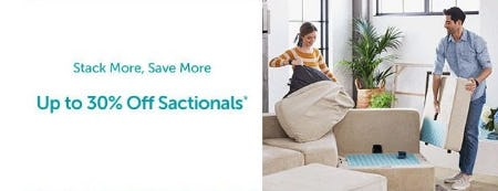 Up to 30% Off Sactionals from Lovesac