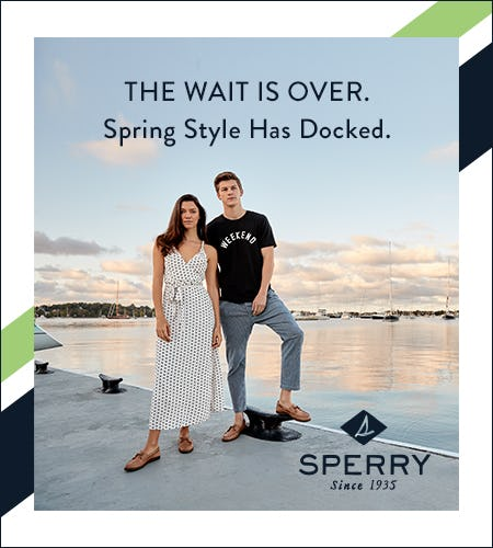 AUTHENTIC. ORIGINAL. ICONIC. SINCE 1935. from Sperry Top-Sider