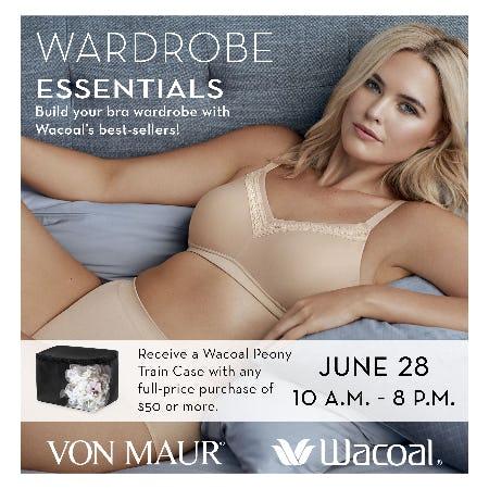 Wacoal Wardrobe Essentials Fit Event from Von Maur