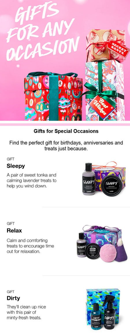 Shop Gifts for Any Occasion