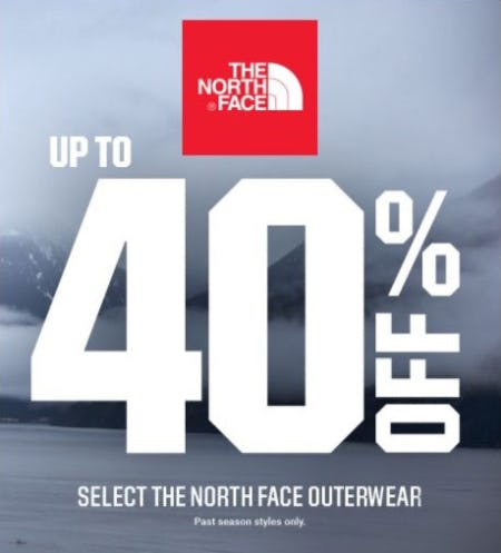 Up to 40% Off Select The North Face Outerwear from Dick's Sporting Goods