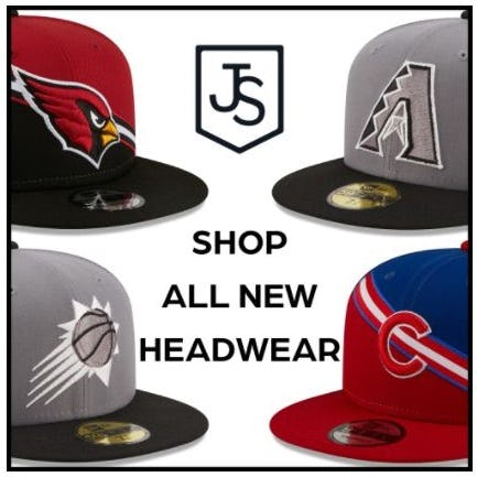 All-New Headwear from Just Sports