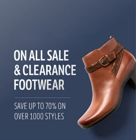 Up to 70% Off Sale & Clearance Footwear from THE WALKING COMPANY