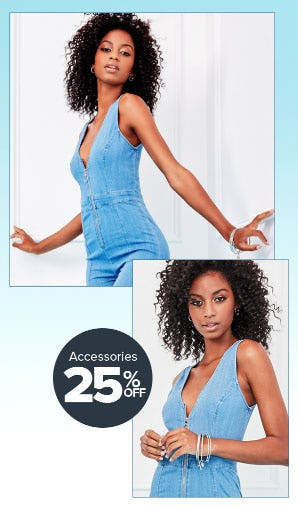 Accessories 25% Off from Rainbow