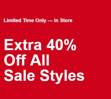 Extra 40% Off Sale from Call It Spring