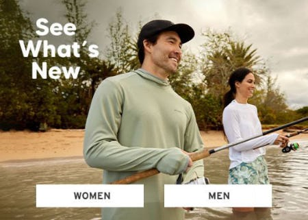 See What's New from Eddie Bauer
