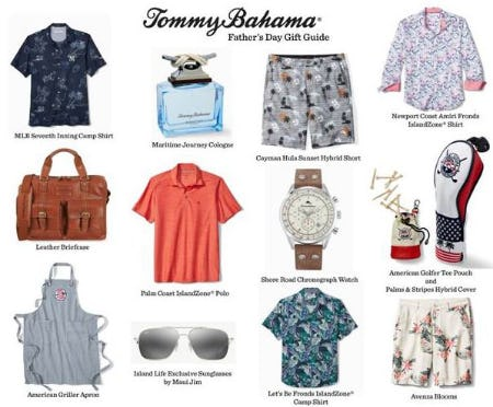 Father's Day from Tommy Bahama