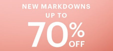 New Markdowns up to 70% Off from Charlotte Russe