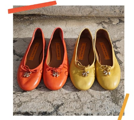 Introducing the Tory Charm Ballet from Tory Burch