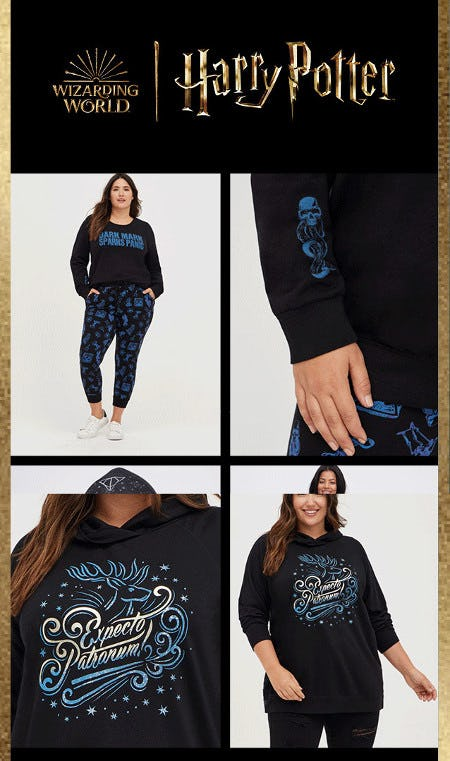 New Harry Potter Collection Just Flew In from Torrid