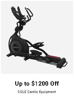 Up to $1200 Off SOLE Cardio Equipment from Dick's Sporting Goods