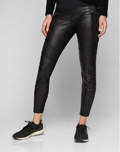 Ponte Leather Legging