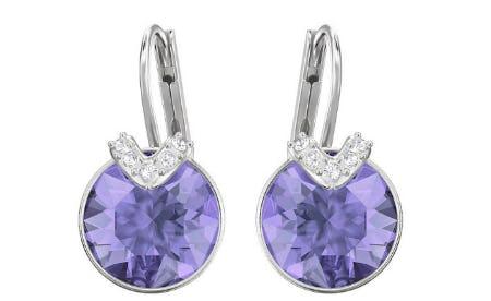 Bella V Pierced Earrings from Swarovski