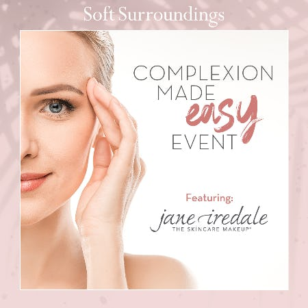 Complexion Made Easy Beauty Event from Soft Surroundings