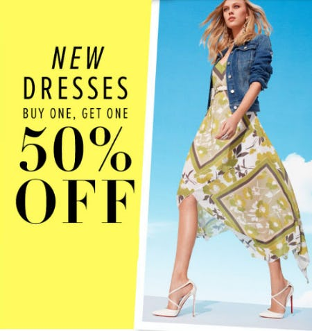 BOGO 50% Off New Dresses from New York & Company