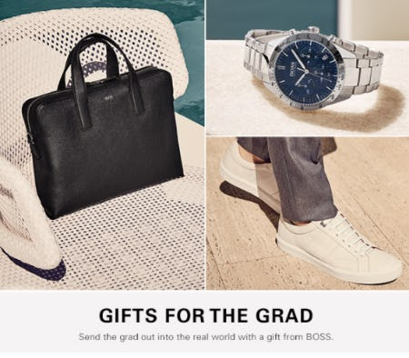 Gifts for the Grad from Hugo Boss