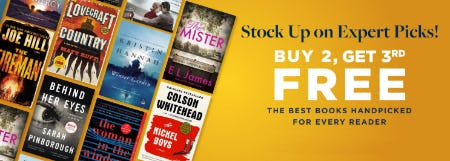 B2G3 Free The Best Books Handpicked for Every Reader from Books-A-Million