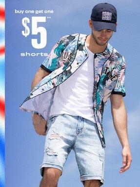 BOGO $5 Shorts from rue21