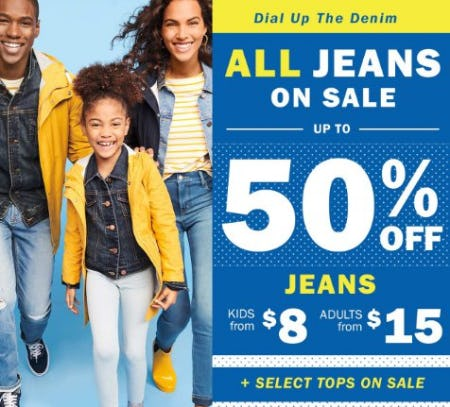 All Jeans on Sale up to 50% Off from Old Navy