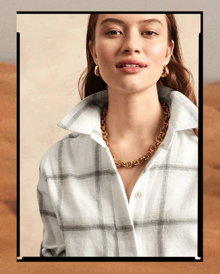 Fall Essential: Statement Tops from Banana Republic