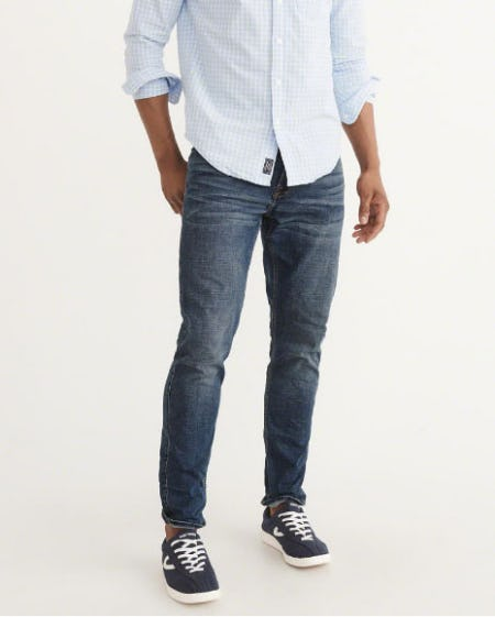 Athletic Slim Jeans from Abercrombie & Fitch