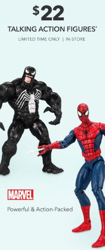 $22 Talking Action Figures from Disney Store