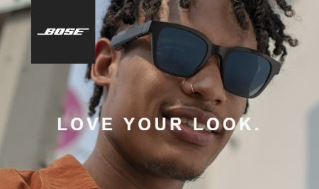 Bose Frames with New Lens Collection from Bose