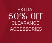Extra 50% Off Clearance Accessories from Men's Wearhouse