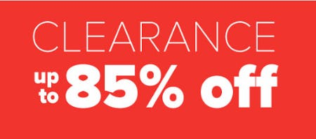 Up to 85% Off Clearance from Belk Store