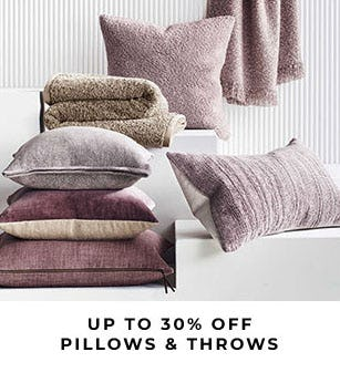 Up to 30% Off Pillows & Throws from Pottery Barn
